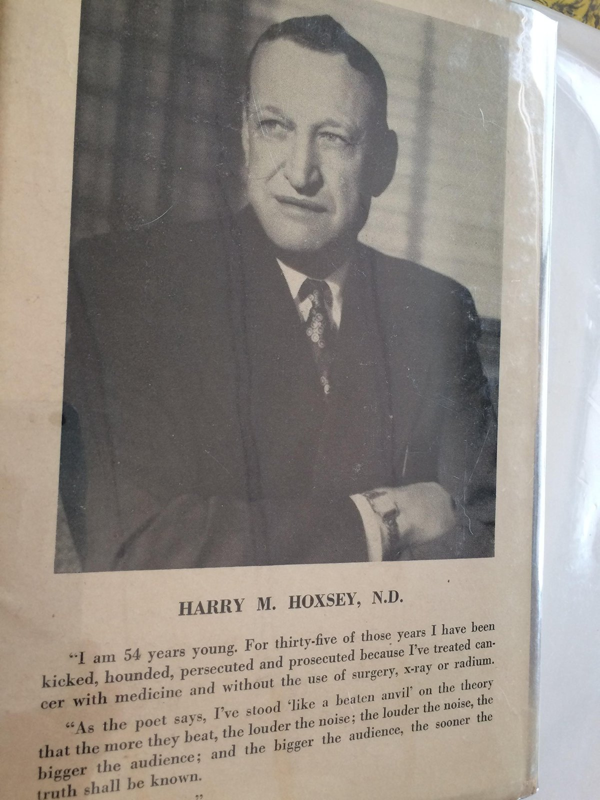 You don't have to die [Jan 01, 1956] Hoxsey, and 50 similar items