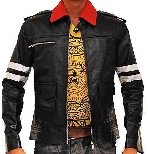 Men's Prototype Alex Mercer Dragon Costume Black Jacket