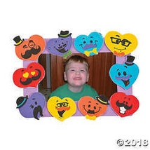Mustache Heart Picture Frame Craft Kit - $14.00