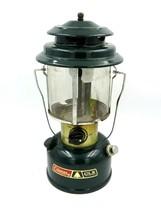 Vintage Coleman Green Camping Lantern Double Mantle Model 290 - WORKS - $49.45
