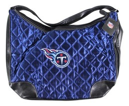 NEW TENNESSEE TITANS Quilted Hobo Bag PURSE By Little Earth NFL Football... - $23.36