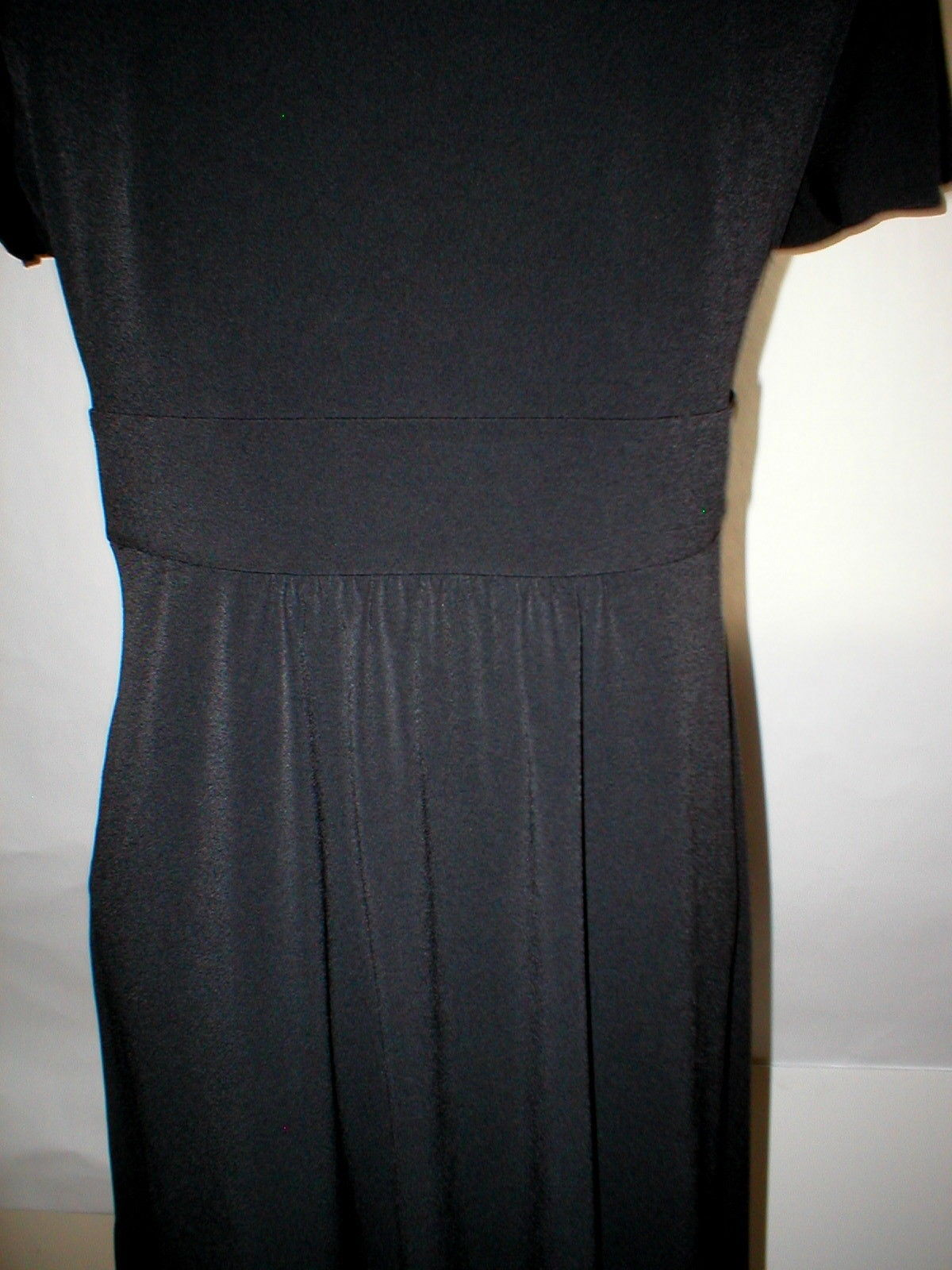 New NWT Womens MP P M Petite Calvin Klein Dress Black Studs Party Date Work  SS