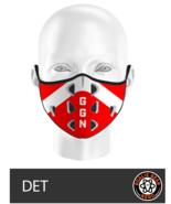Goalie Gear Nerd Mask - Detroit Theme - $11.00