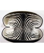 Roberto Cavalli Case Eyeglasses Sunglasses Hard Clamshell Black Zebra In... - $13.99