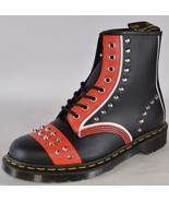 NEW Dr. Doc Martens 1460 Hero Backhand Studded Colorblock Boots Shoes Si... - $147.51