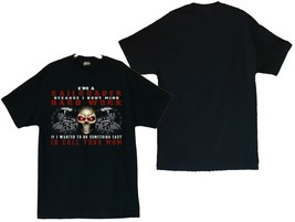 Railroad Locomotive with Skull Men's T-Shirts (S thru 4XL) - $20.78+