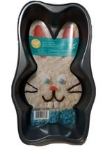 Easter Wilton Bunny Head Cake Pan Bow Tie Non Stick Dishwasher Safe 2 x ... - $15.88