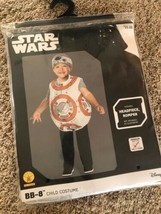Disney BB-8 Droid Star Wars Toddler Costume 2T 3T NEW Rubie's Dress Up NWT - $19.79