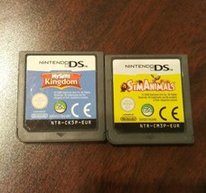Lot of 2 My Sims Kingdom & Sim Animals Nintendo DS DSi Lite EA Video Gam... - $11.87