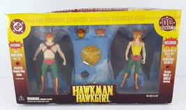 DC Direct Hawkman Hawkgirl Deluxe Action Figure Set 2000 In Box - $44.54