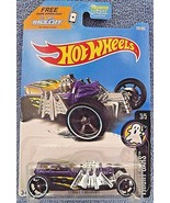 2017 Hot Wheels #178 Fright Cars 3/5 STREET CREEPER Purple w/Black OH5 S... - €5,48 EUR