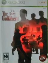 The Godfather II XBOX 360,,Mafia,Mobster,Based on Movie] - $14.99