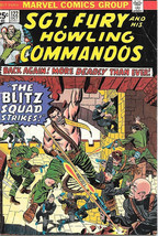 Sgt. Fury and His Howling Commandos Comic Book #122 Marvel 1974 VERY GOOD - $4.50