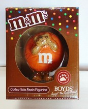 M & M Mars Boyds - Collectible Resin Figurine - ORANGE Peeker 2005 - New - $17.14