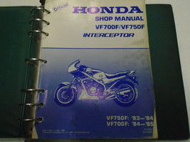 1983 1984 1985 HONDA VF750F VF700F INTERCEPTOR Service Repair Manual Use... - $47.51