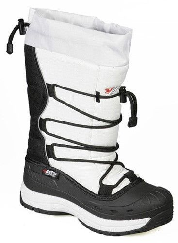 New Ladies Size 9 White Baffin Snogoose Snowmobile Winter Snow Boots Rated -40F