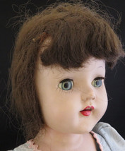 """Vintage Universal Baby Barry 16"""" hard plastic doll with tooth sleeping eyes - $45.00"""