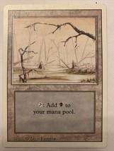 MTG Magic The Gathering Card Swamp Land Mana Pool - $0.98