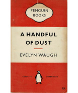 A Handful of Dust By Evelyn Waugh ~ Penguin #822 ~ Paperback ~ 1955 - $6.99