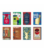 B-THERE Happy Father's Day Cards Bundle of 8 Different Handmade Greeting... - $14.67
