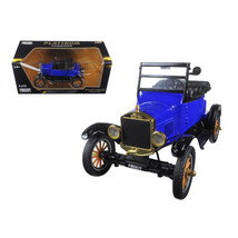 1925 Ford Model T Runabout Blue 1/24 Diecast Model Car by Motormax 79327bl - $34.69