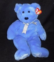 "13"" Large Ty B EAN Ie Buddies 1999 Clubby Ii Teddy Bear Stuffed Animal Plush Toy - $18.70"