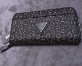 NEW NWT GUESS Womens Wallet Full Zip Around Clutch Organizer Burbank SLG - $55.64