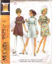 1968 DRESS Pattern 9529-m  JP Size 11 - $9.99