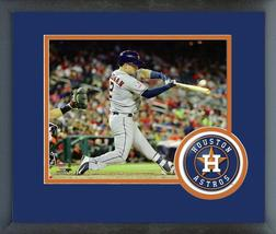 Alex Bregman 2018 MLB All-Star Game Batting-11x14 Team Logo Matted/Frame... - $42.95