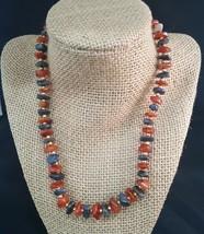 "Vintage Natural Stone Necklace 17.5"" - $20.00"