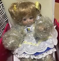 """Marie Osmond Tiny Tot Doll """"Got Milk?"""" COA NIB  - $45.00"""