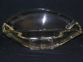 Vintage Heavy Glass Fruit Console Centerpiece Bowl - $13.85