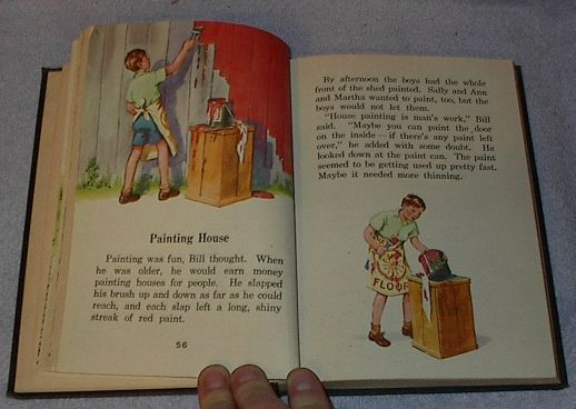 The Five and a Half Club, Alice and Jerry 1942 School Reader Book