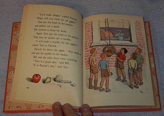 Lost and Found 1947 Children's Old School Reader