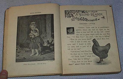 Stepping Stones to Literature  Children's Antique School Reader