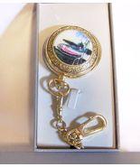 Men's Goldtone Phillip Crowe Quartz Pocket Watch, Signature Series, NIB - $14.99