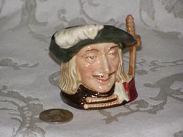 Royal Doulton Aramis 3 Musketeer D6508 England English Toby Jug Mini Mug Hand Pa - $87.75