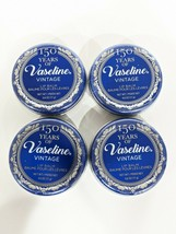 (4) Vaseline Limited Edition Lip Balm 150 Year Vintage Lip Balm Tin 0.6 Oz. - $13.83