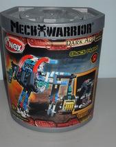 2002 K'NEX Mech Warrior Black Hawk New In The Box - $34.99