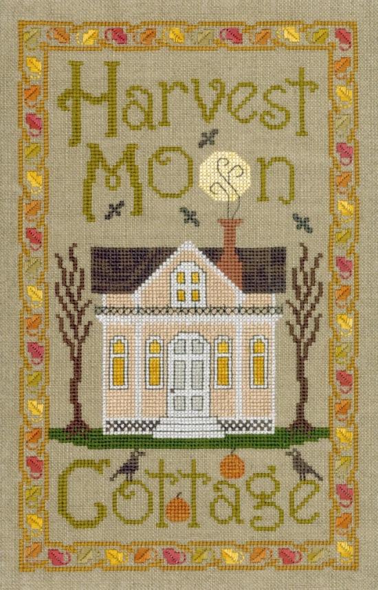 Harvest Moon Cottage cross stitch chart Elizabeth's Designs  - $8.10