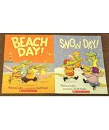 Beach Day and Snow Day by Patricia Lakin and Sc... - $2.00