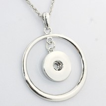 2016 Newest snap button jewelry necklace   NE202  (fit 18mm 20mm snaps) ... - $5.84
