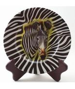 Email de Limoges Zebra Wildlife Safari Plate Fiorilli - $28.00