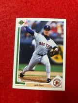 BASEBALL TRADING CARD UPPER DECK 1991 #685 JEFF GRAY  (SS78) - $4.17