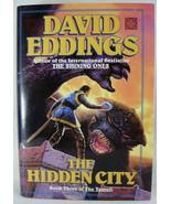 The Hidden City Book 3 Tamuli David Eddings 1994 1st Rare Double Dust Ja... - $9.89