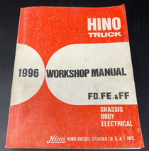 Hino Truck 1996 FD/FE/FF Chassis Body Electrical Service Workshop Manual... - $28.45