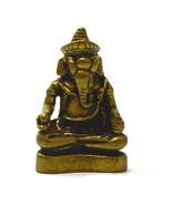 Hindusim Statue Load Ganeh Ganesha Elephant God Hidu Thai Mini Amulet Su... - $24.88