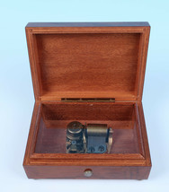 Reuge Vintage Swiss Music Box Inlaid Wood Plays Emperor Waltz Anniversary Song - $87.03