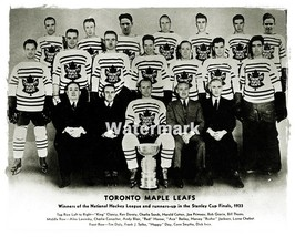 1933 NHL Toronto Maple Leafs team Photo Black & White 8 X 10 Photo  Picture - $6.29