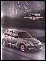 2001 Chrysler PT Cruiser ORIGINAL Prestige Brochure - $6.52
